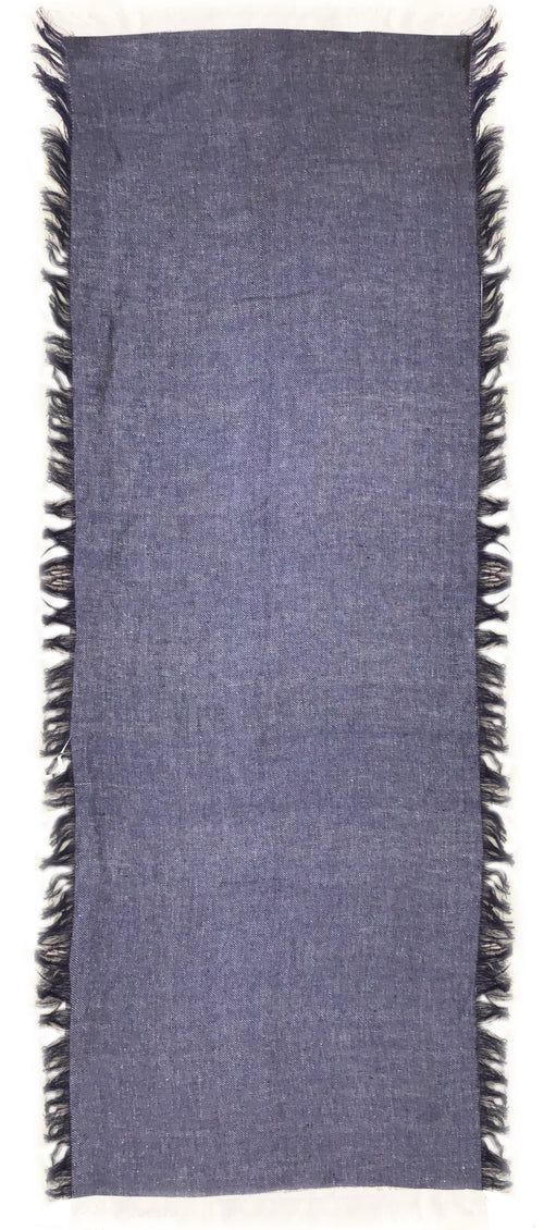 LINEN WRAP (DENIM BLUE)