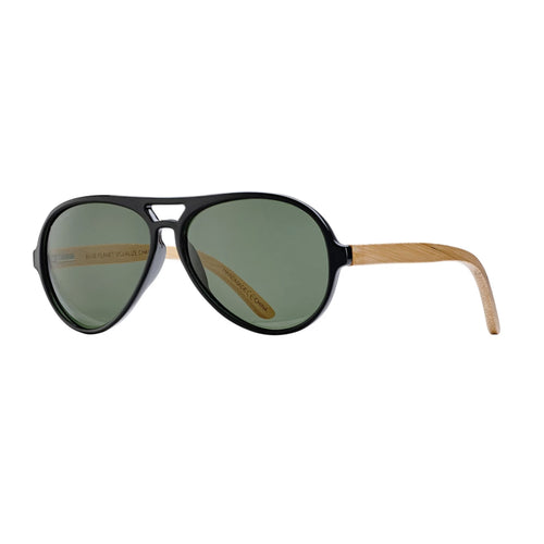 MARSHALL SUNGLASSES (Crystal Smoke / Smoke / Natural Bamboo)