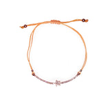 STAR BRACELET (ORANGE/ ROSE GOLD)