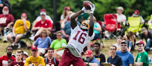 An injury to WR Josh Doctson may open a door for Zach Pascal