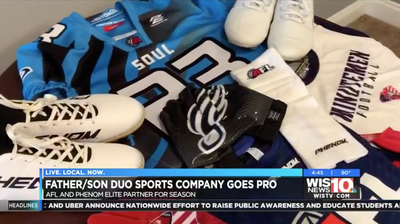 Columbia father-son duo take their sports apparel company to professional football