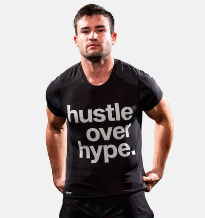 Phenom Flow™ Hustle Over Hype Vortex Tee - Phenom Elite