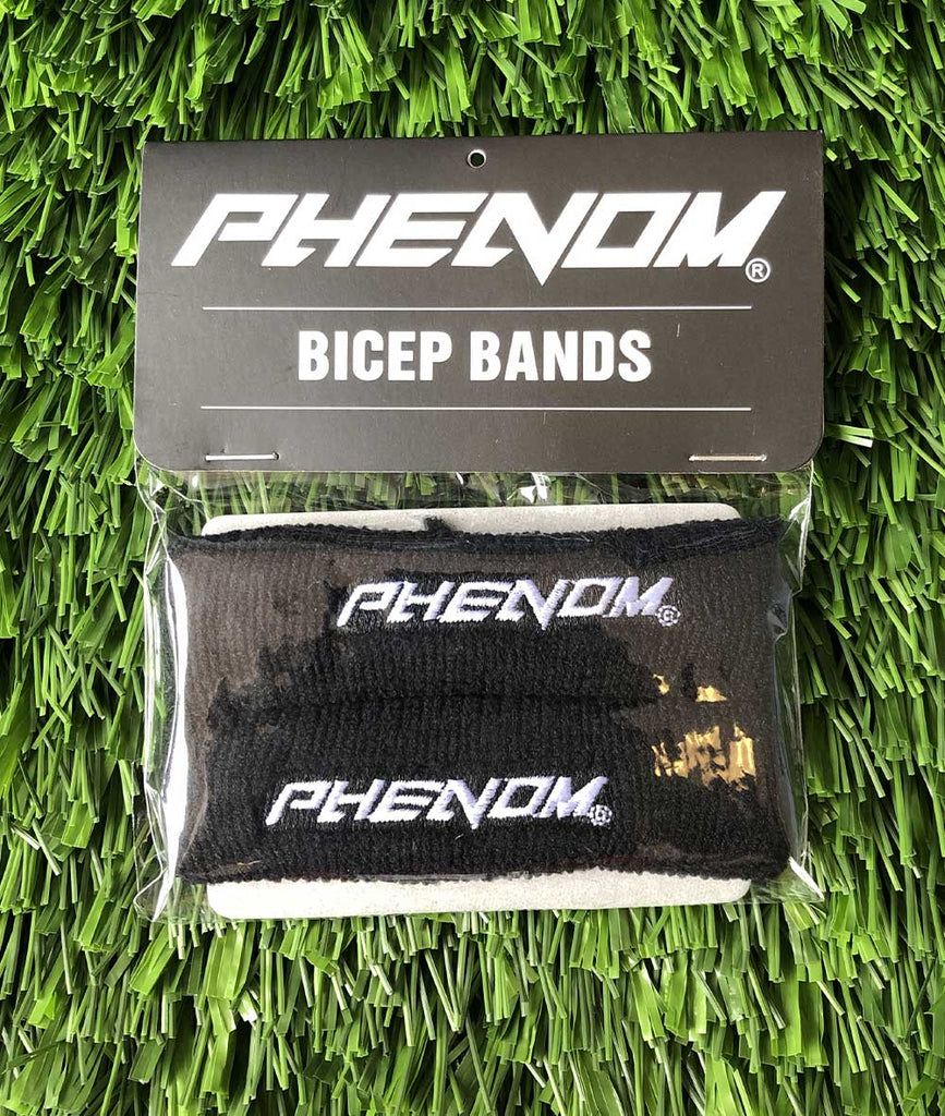 Bicep Bands - Black - Phenom Elite Brand