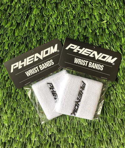 Wrist Bands - White - Phenom Elite