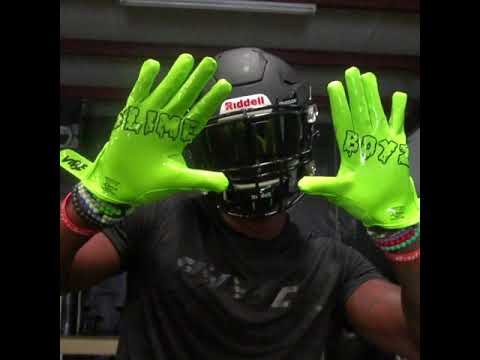 Phenom Elite Slime Boyz Football Gloves - VPS1