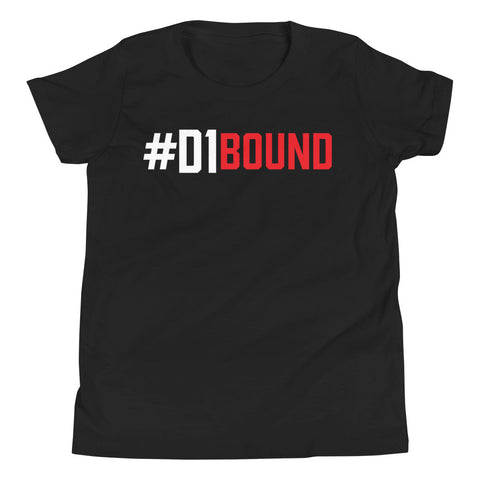 Image of #D1Bound Youth Tee - Phenom Elite Brand