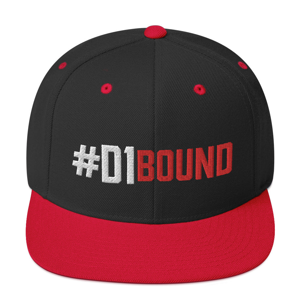 #D1Bound Snapback Hat - Phenom Elite Brand
