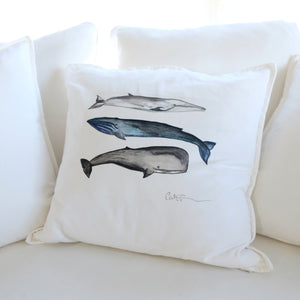 Coussin 3 BALEINES