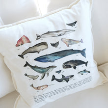 Load image into Gallery viewer, Coussin LES MAMMIFÈRES MARINS
