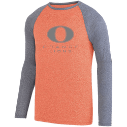 Adult Two-Color LS Raglan Tee