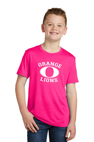 Youth Short Sleeve Neon Pink T-Shirt