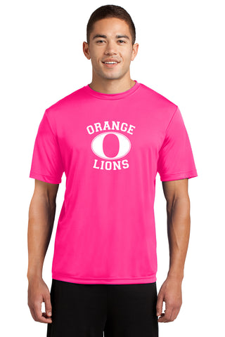 Adult Short Sleeve Neon Pink T-Shirt