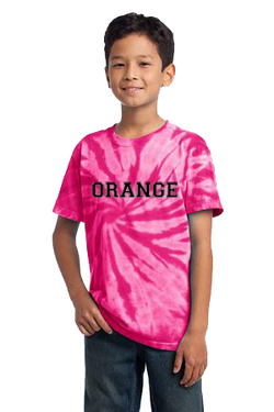 Youth Pink Tie-Dye T-Shirt