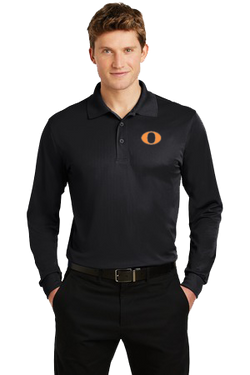 Adult Long Sleeve Micropique Polo Shirt