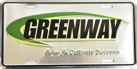 Greenway License Plate