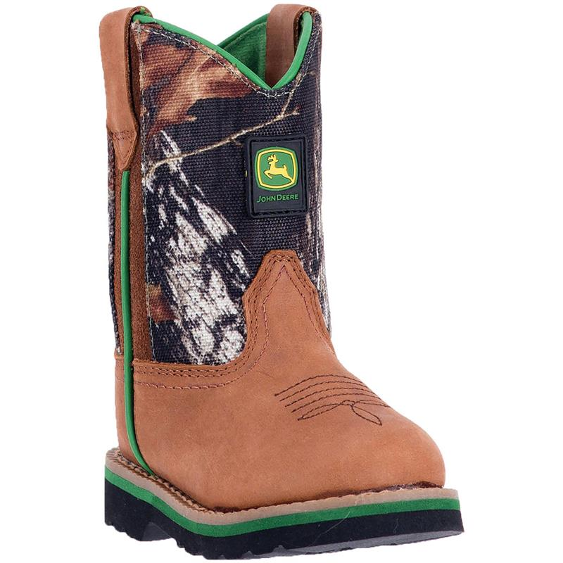 John Deere, Infant Tan/Camo Boots, JD1188