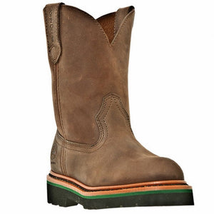 John Deere, Youth Brown Boots, JD3173