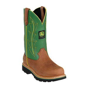 John Deere, Lades Tan/Green Boots, JD3286