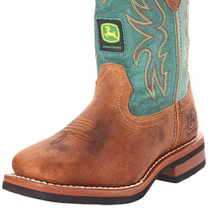 John Deere, Youth Tan/Green Boots, JD3318