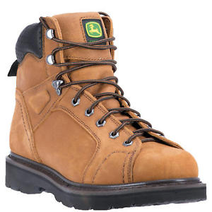 John Deere, Mens Tan Boots, JD6124
