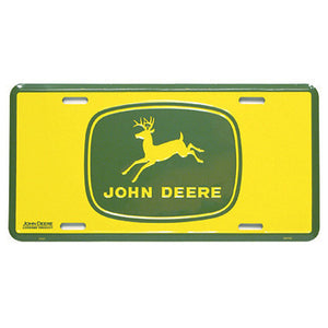 John Deere Vintage Logo License Plate Product ID: LP10165