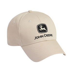 Stone Cap With Black John Deere Logo Product ID: LP17595