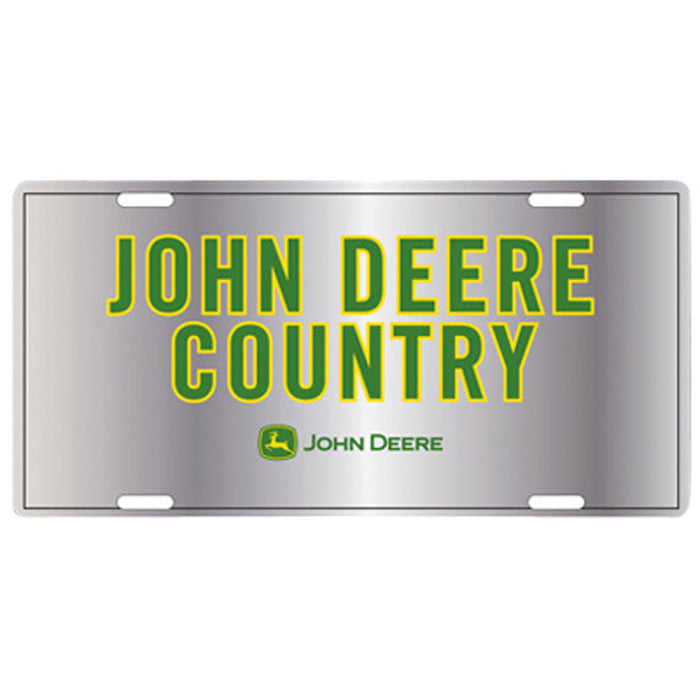 John Deere Metal License Plate Product ID: LP27341