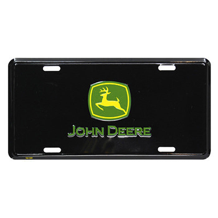 John Deere Logo 2000 Metal License Plate Product ID: LP37034