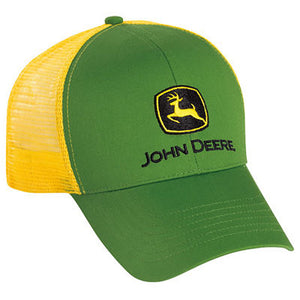 Men's Green Twill and Yellow Mesh Cap Product ID: LP43423