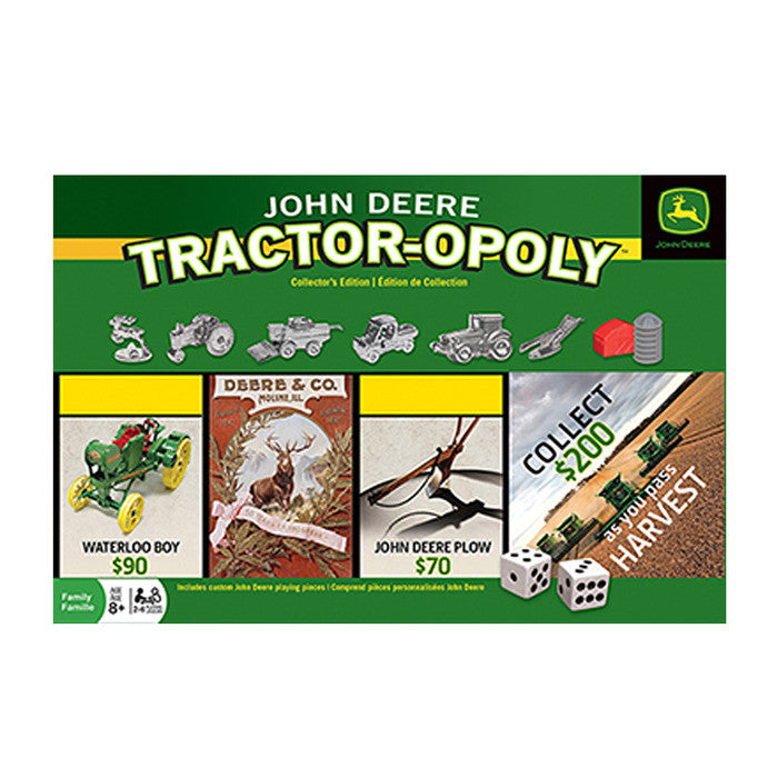 John Deere Tractor-Opoly Collector's Edition Product ID: LP46430