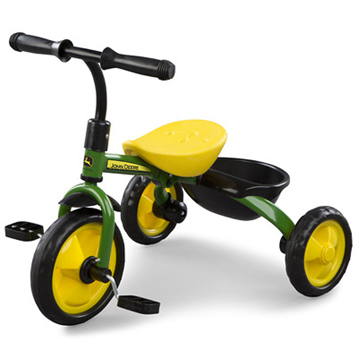 John Deere Green Steel Tricycle Product ID: LP53337