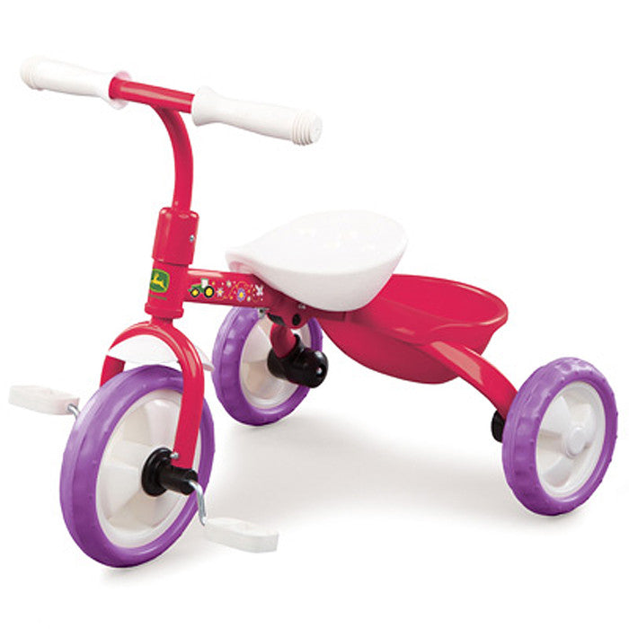 John Deere Pink Steel Tricycle Product ID: LP53338
