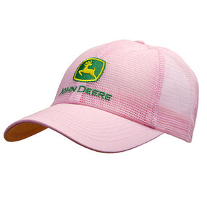 John Deere Women's Pink All Mesh Hat Product ID: LP53494