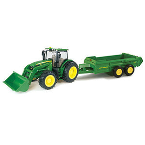 1/16 John Deere Big Farm Tractor With Spreader Product ID: LP55404