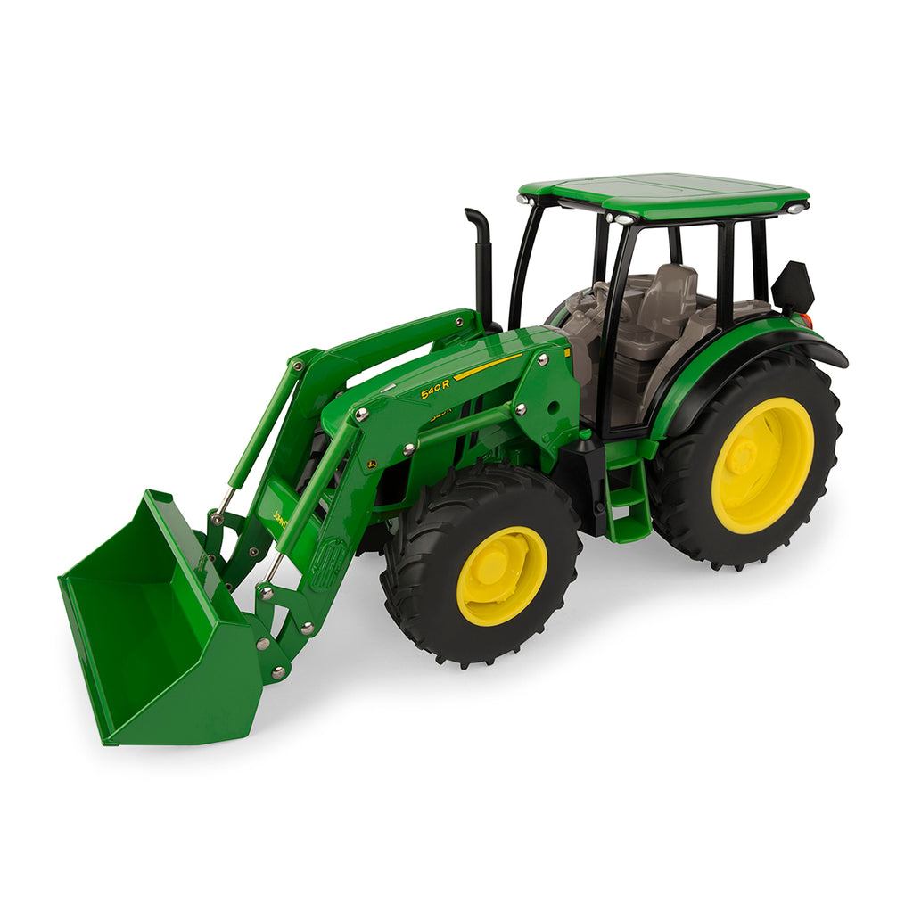 JOHN DEERE 1/16 5125R TRACTOR TOY WITH LOADER #LP64408