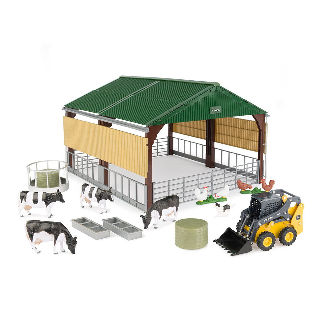 1/32 John Deere Livestock Building & Accessories - LP75987