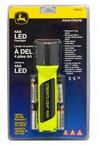 JOHN DEERE YELLOW LED FLASHLIGHT SW68202