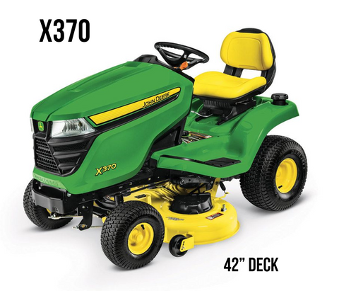 X370 Lawn Tractor 42-in