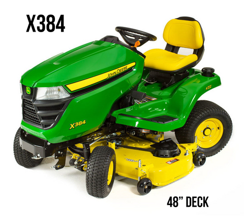 X384 AWS Lawn Tractor 48-in