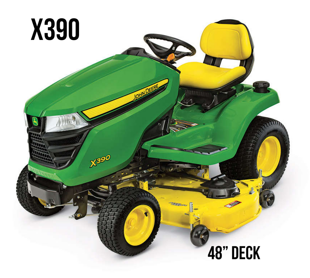 X390 Lawn Tractor 48 in. Deck