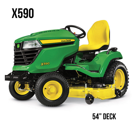 X590 Lawn Tractor 54 in. Deck