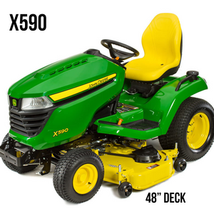 X590 Lawn Tractor 48 in. Deck