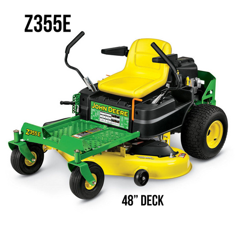 Z355E RESIDENTIAL ZTRAK MOWER 48-in. DECK