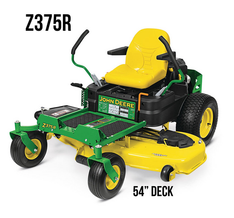 Z375R RESIDENTIAL ZTRAK MOWER 54-in. DECK