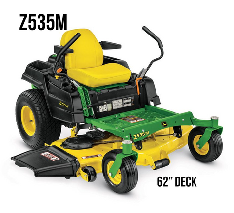 Z535M RESIDENTIAL ZTRAK MOWER 62-in. DECK