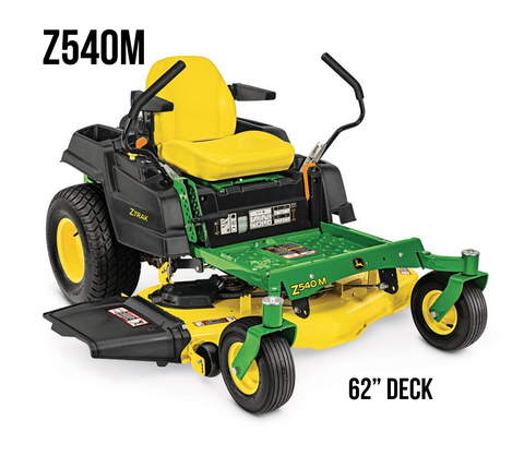 Z540M RESIDENTIAL ZTRAK MOWER 62-in. DECK