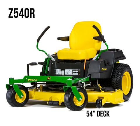 Z540R RESIDENTIAL ZTRAK MOWER 54-in. DECK