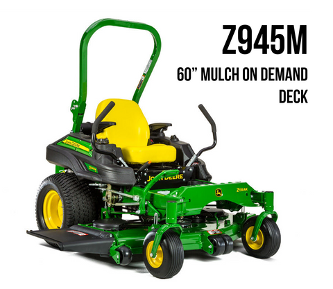 Z945M ZTrack Zero-Turn Mower 60 in. Mulch on Demand Deck