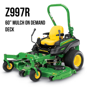 Z997R ZTrack Zero-Turn Mower 60 in.Mulch On Demand Deck