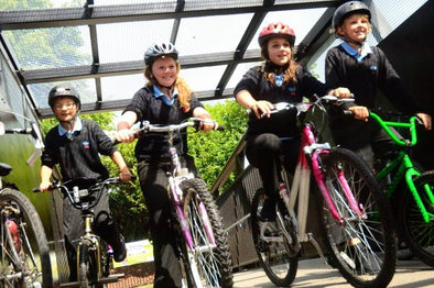 How to encourage your children to cycle to school